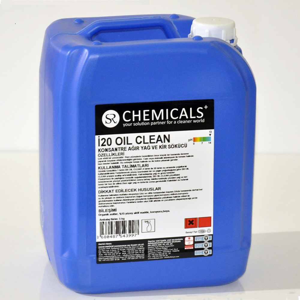 Commercial Oil Remover Containing Solvent